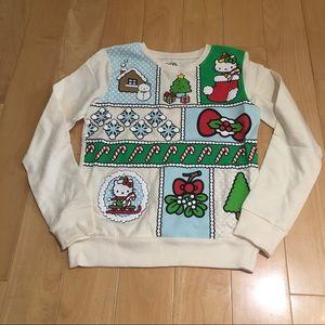 NWOT hello Xmas sweater